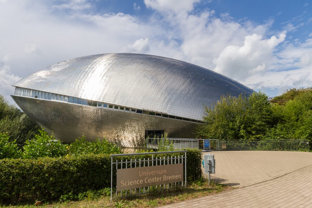 Universum Science Center in Bremen.