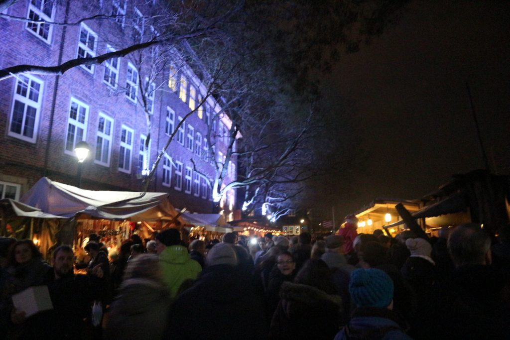 Kerstmarkt Bremen Schlachte Zauber