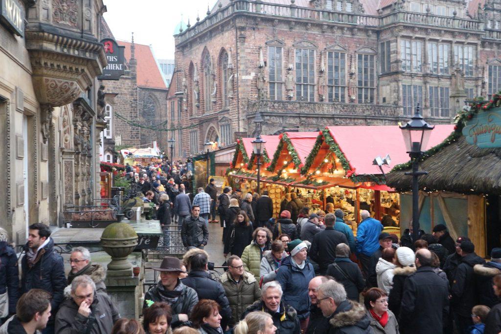 Kerstmarkten in Bremen