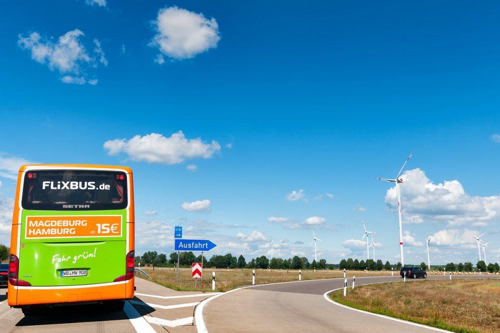 Met de bus naar Bremen